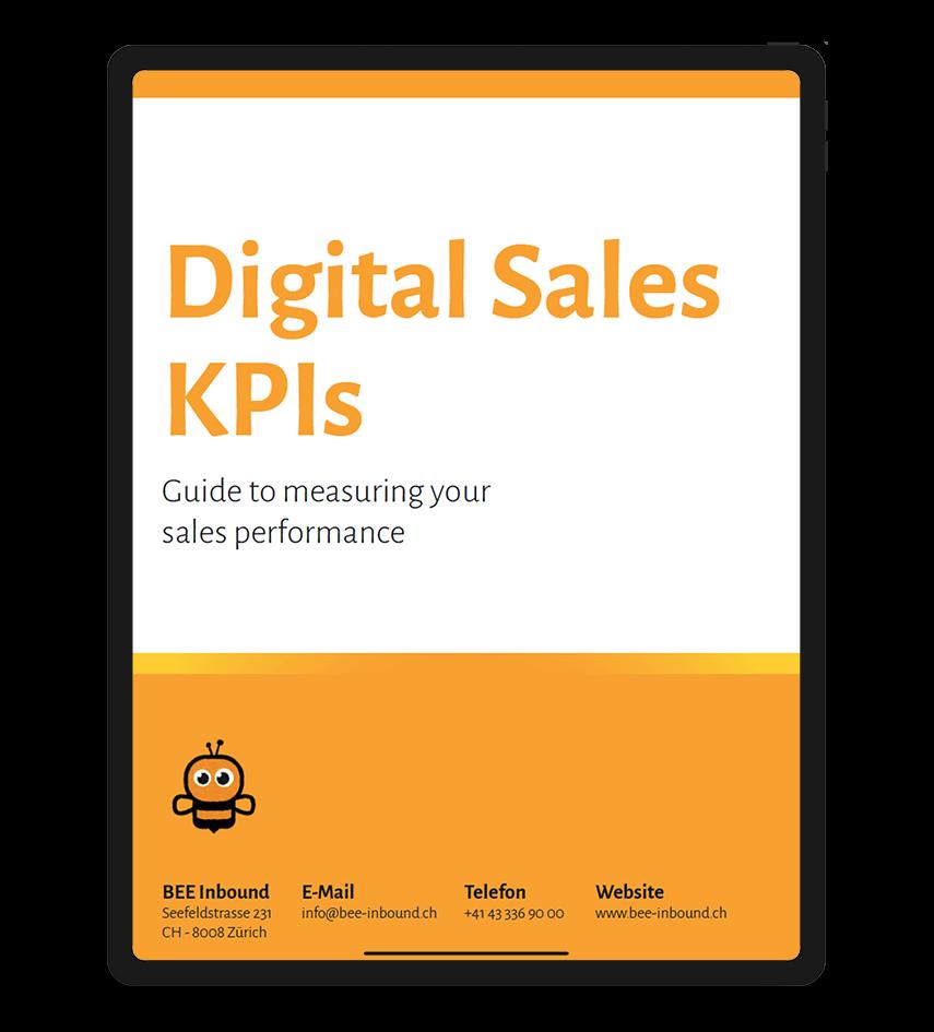 Digital Sales KPIs cover EN